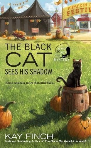 The Black Cat Sees His Shadow: Bad Luck Cat Mystery Book 3